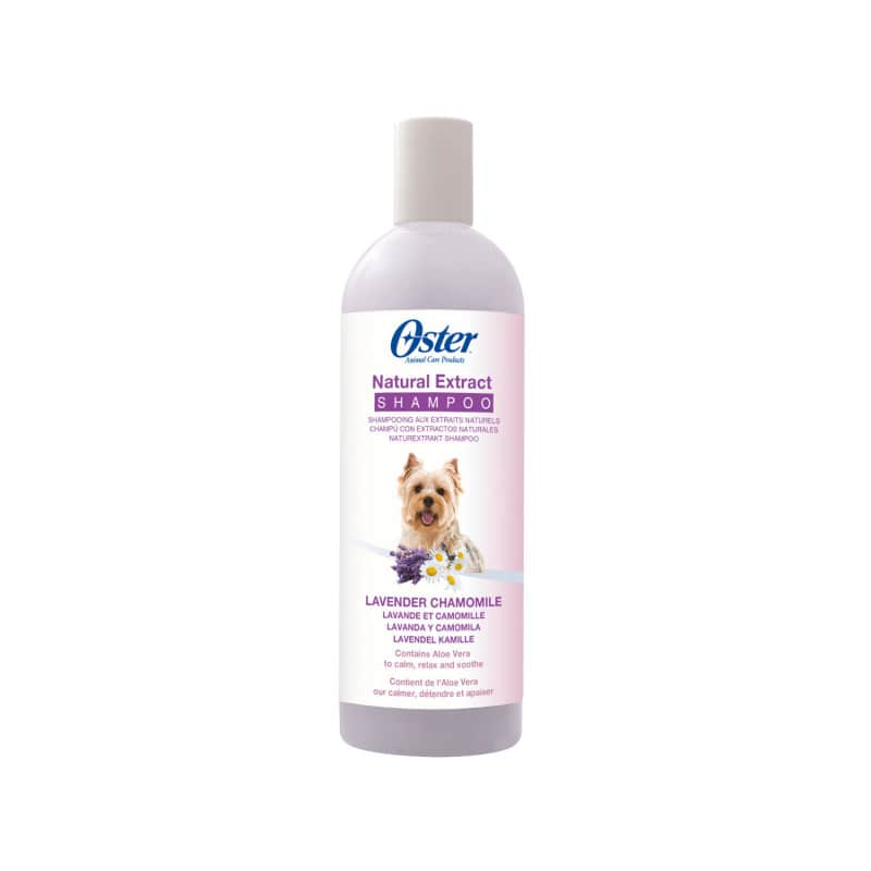 Oster Natural Extract Shampoo with natural ingredients