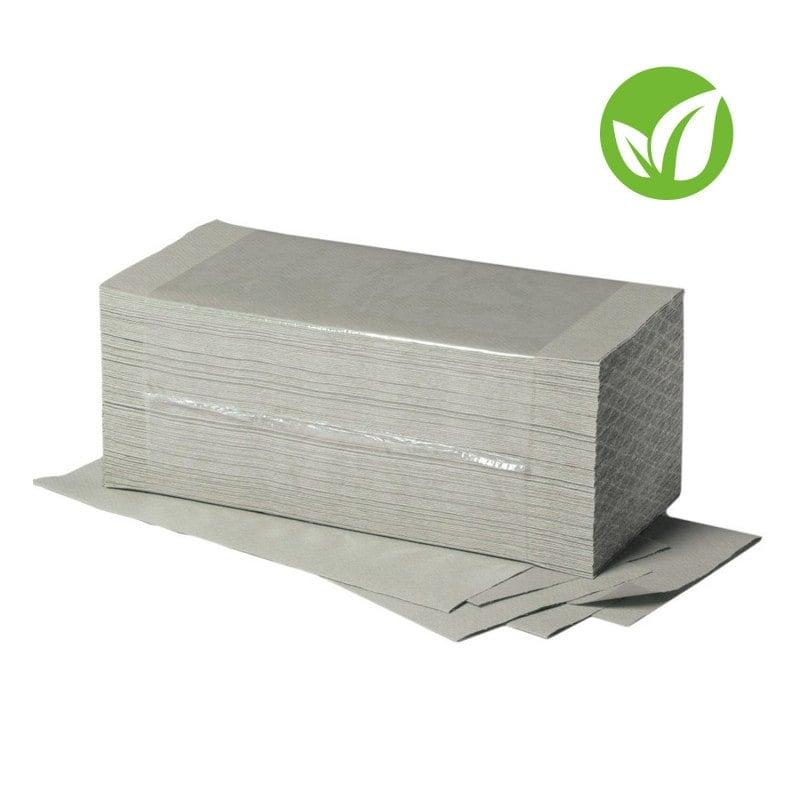 Ein-lagige Papierhandtücher aus 100% Recycling-Material