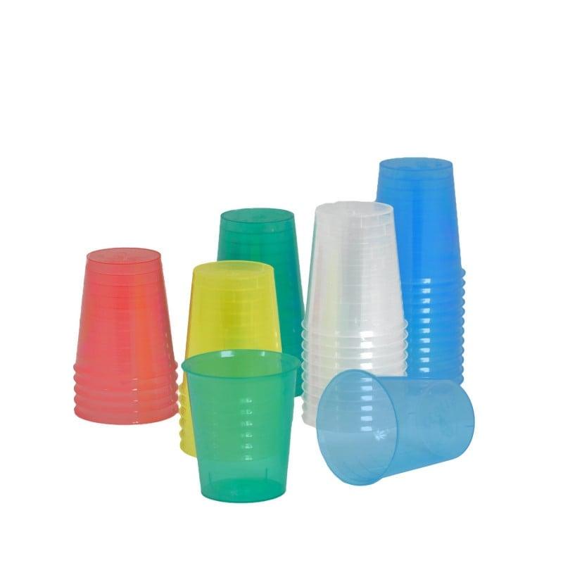 Medikamentenbecher aus Polypropylen, in verschiedenen Farben erhältlich