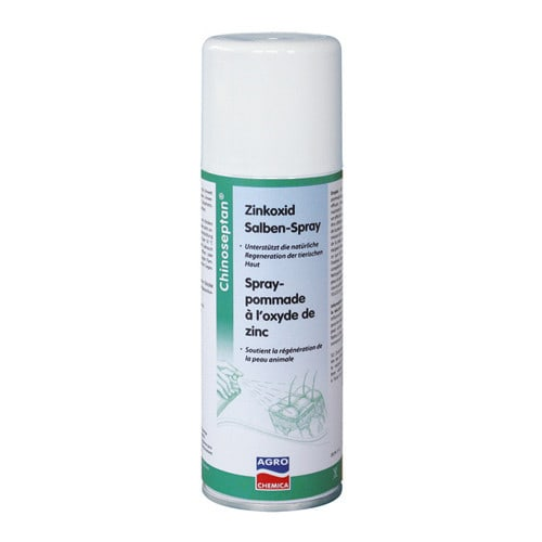 Chinoseptan zinc oxyde cream in spray