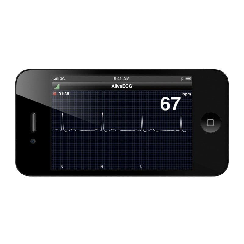 Moniteur vétérinaire ECG AliveCor iPhone