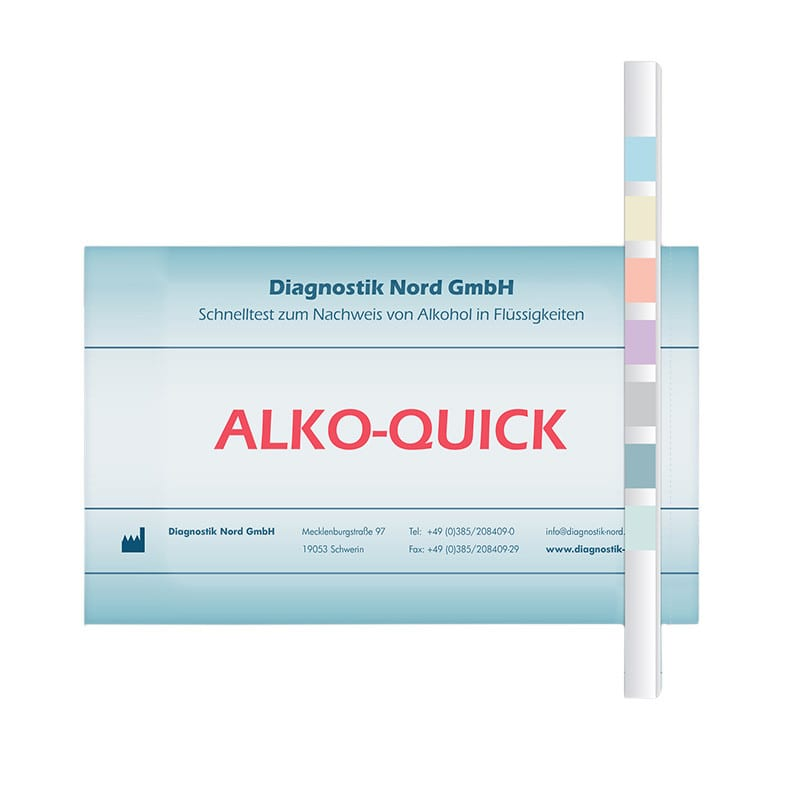 Alko-Quick alcoholteststrips