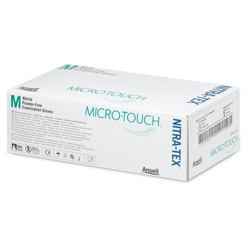 Ansell Micro-Touch® Nitra-Tex examination gloves