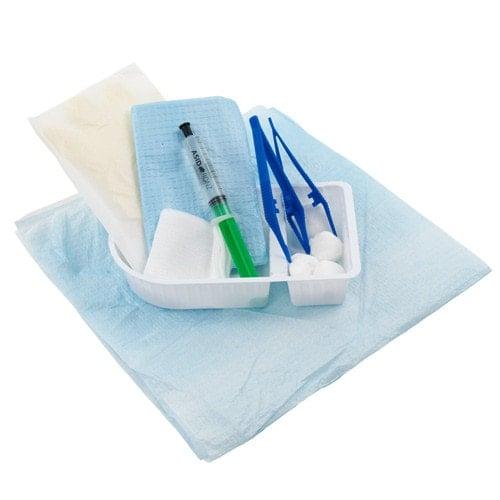 Steriles Blasenkatheterset, komplett bestückt, lange sterile Haltbarkeit