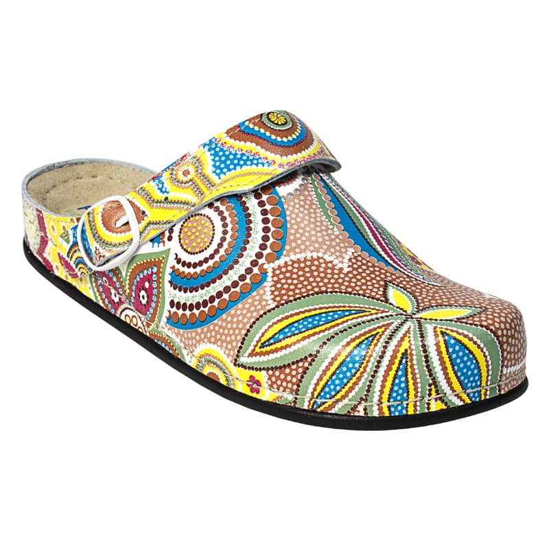 AWC Damen-Clogs «Flower»