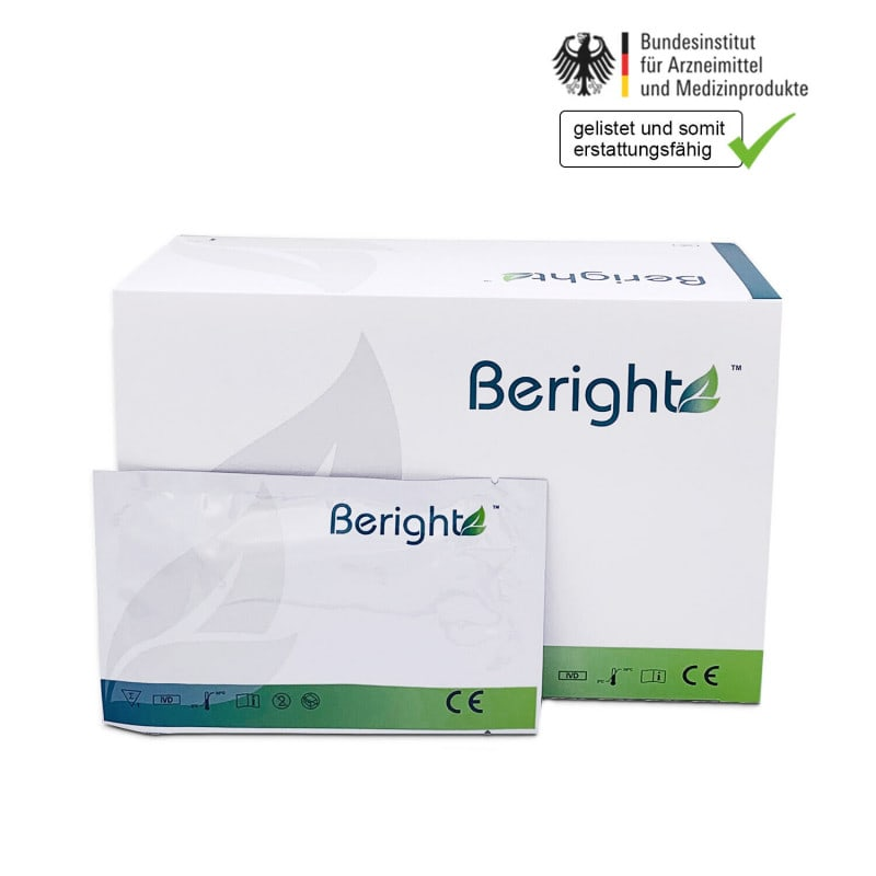 Beright Covid-19 antigen test for the detection of SARS-CoV-2 antigens
