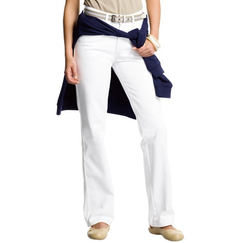 Delta Ladies' White Trousers
