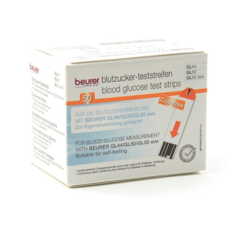Paski do glukometru Beurer GL50 / GL44 / GL50 evo