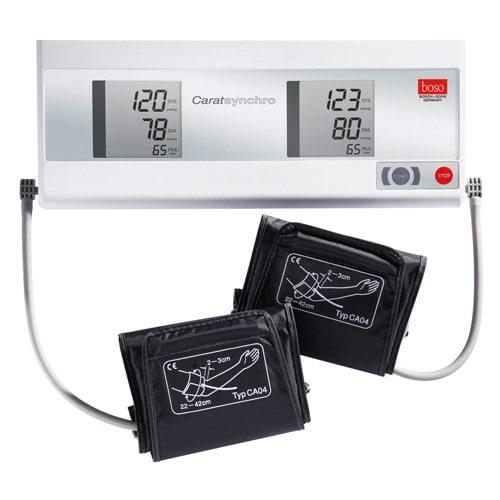 boso Carat synchro zur simultanen Blutdrucks-Messung an beiden Oberarmen