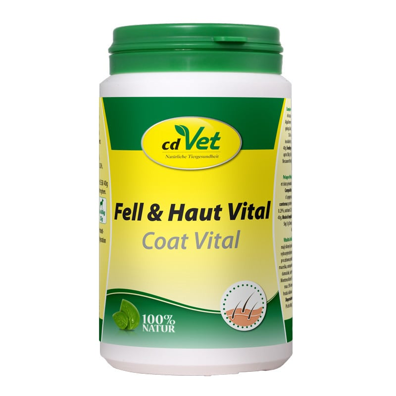 Coat Vital | feed supplement for cats and dogs with fur and skin conditions