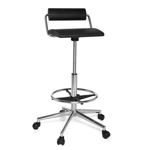 Work Chair with Lower Back Support