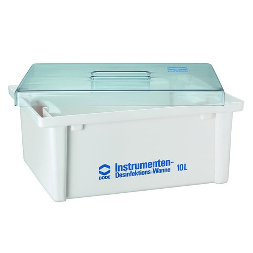 Bode disinfection tub for instruments with lid in various sizes