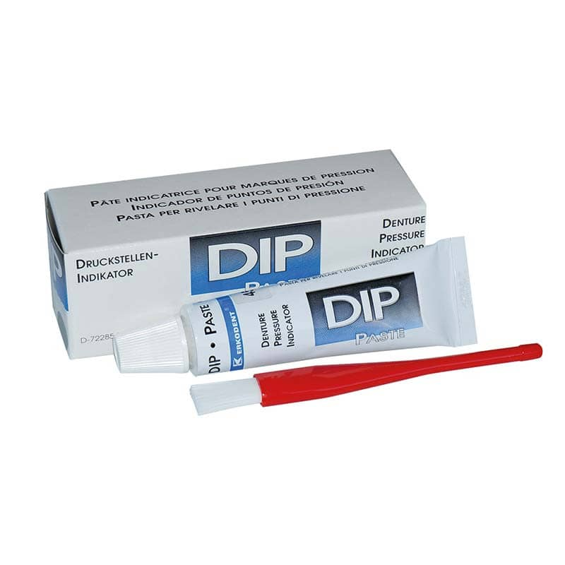DIP pressure point indicator paste