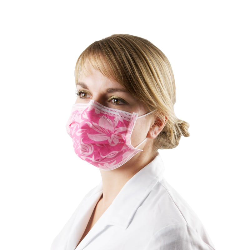Monoart® Surgical Mask with flower pattern