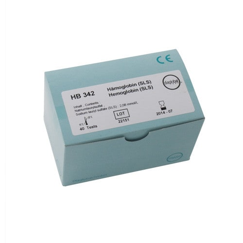 Haemoglobin test cuvettes, quantity 40