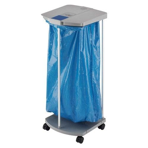 Hailo Müllsackständer mit Rollen zur Aufnahme von 120l-Müllsäcken
