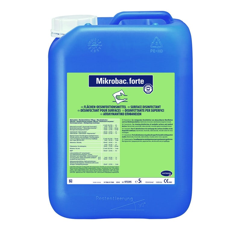 Desinfectante de superficies Mikrobac forte
