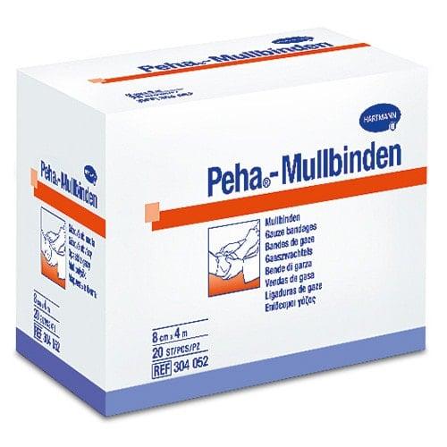 Peha-Mullbinden von Hartmann, 1 Schachtel mit 20 Stück