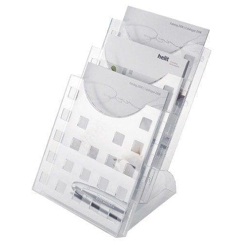 A4 Tabletop Brochure and Leaflet Holder