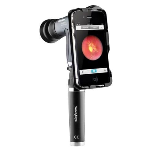 iExaminer Adapter für das PanOptic Ophthalmoskop von Welch Allyn