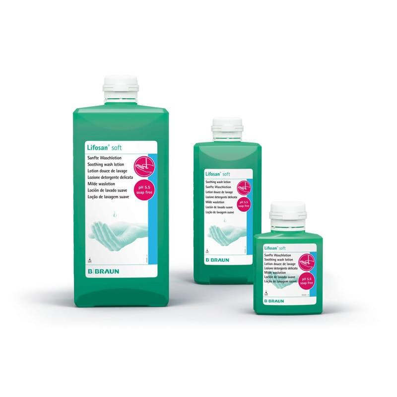 Lifosan soft seifen- und alkalifreie Waschlotion mit hautfreundlicher Formulierung