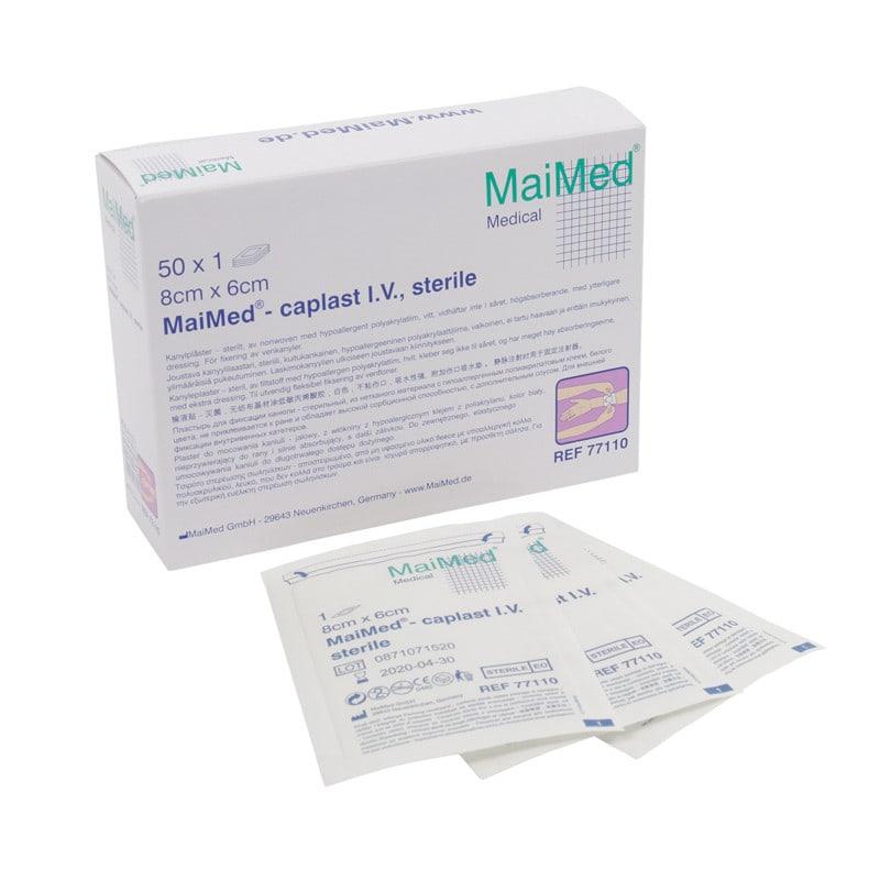 MaiMed-caplast sterile Kanülenpflaster, Maße: 8 x 6 cm