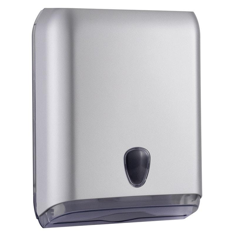 Marplast Handtuchspender für C-, V- und Z-Falz mit Sichtfenster, abschließbar