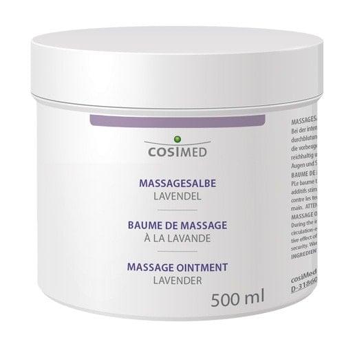 Crème de massage, lavande