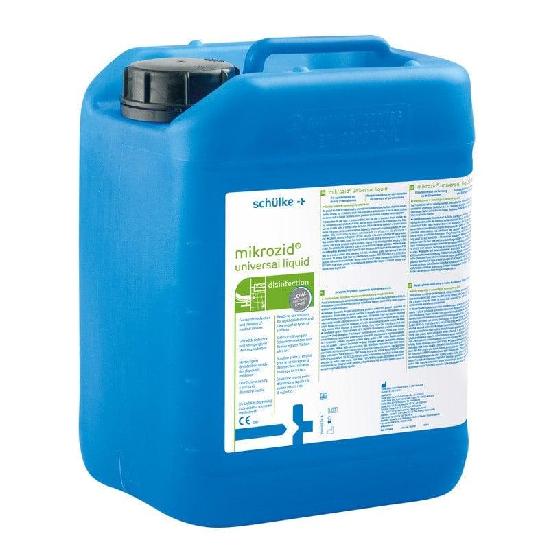 mikrozid universal liquid mit schneller, breiter Wirksamkeit