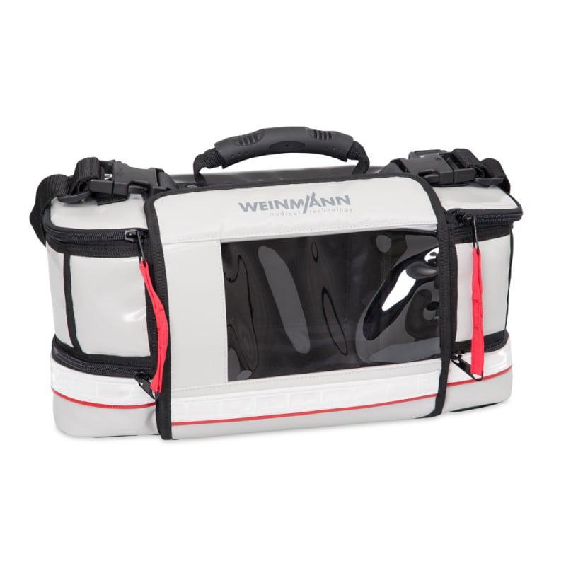 Schutztasche für MEDUCORE Standard² mit Sichtfenster, Seitentaschen und Tragegriff