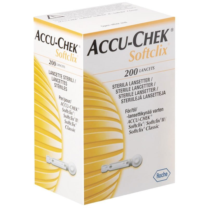 Lancettes Accu-Chek Softclix