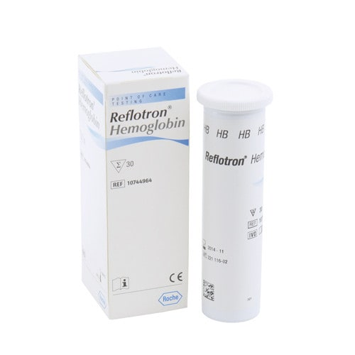 Reflotron Test Strips for Haemoglobin