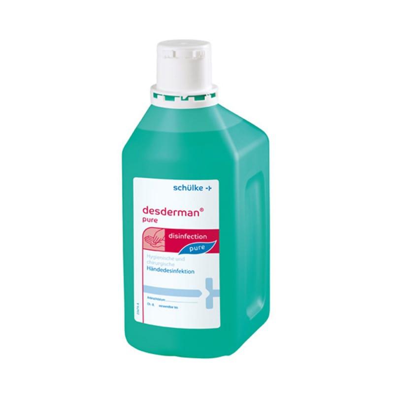 Desderman pure Händedesinfektion, farbstoff- und parfümfrei