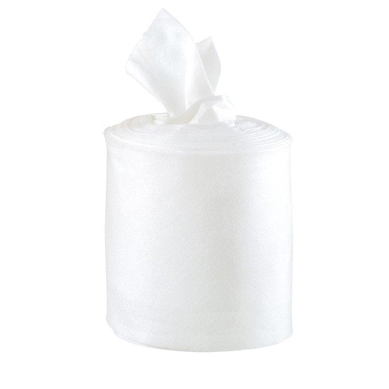 Flusenfreie Schülke wipes, 6 Rollen mit 70 Tüchern, Einzel-Tuch 28 x 23 cm groß
