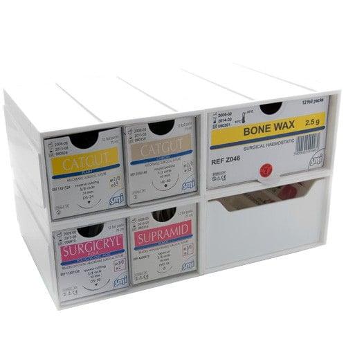 Schubladen für Nahtmaterialständer