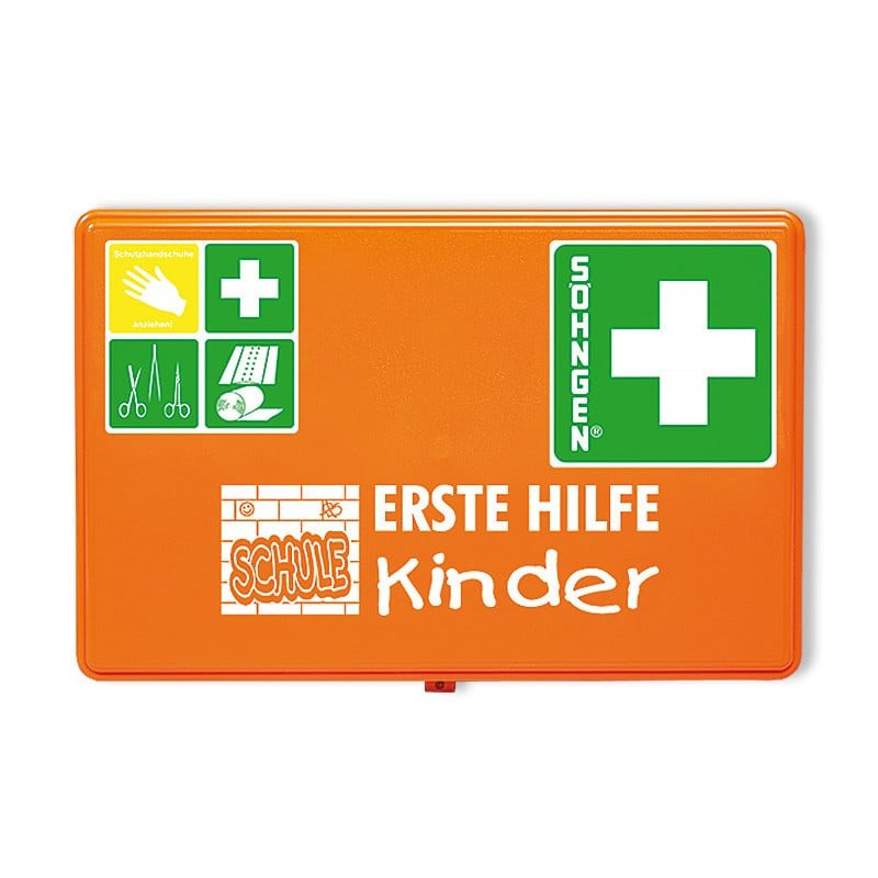 Emergency equipment kit for schools