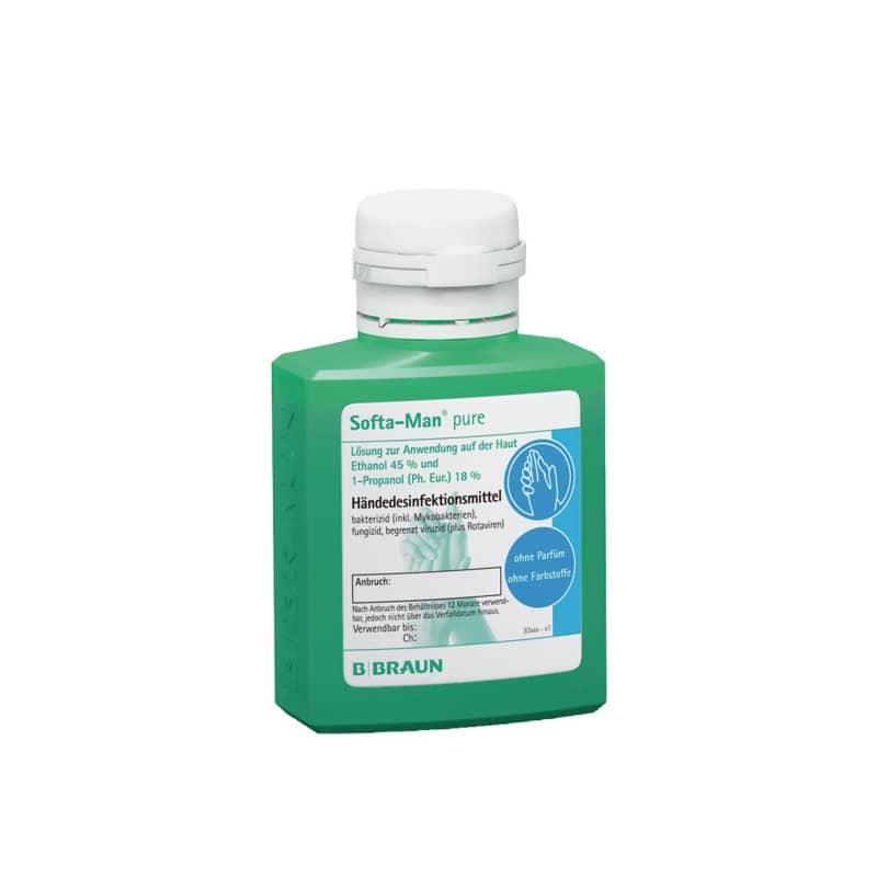 Desinfectante de manos para piel sensible con tiempo de exposición breve