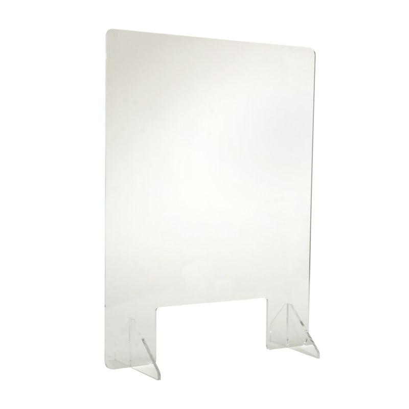 Protection anti postillon en acrylique transparent avec support et passe-partout