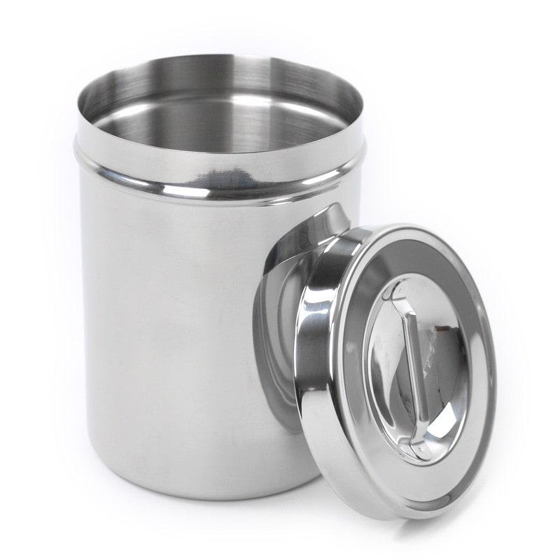Teqler Tupferbehälter mit Deckel, desinfizier- und sterilisierbar