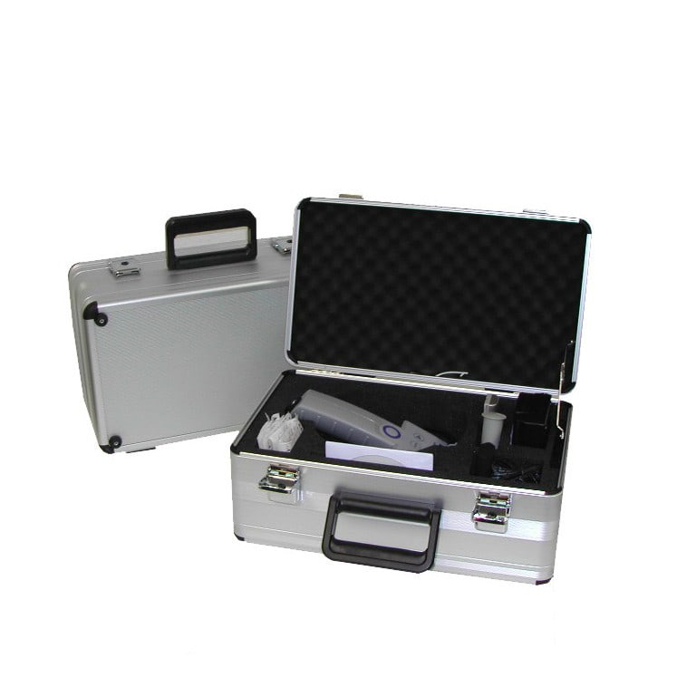 Carrying case for multi-chip reader