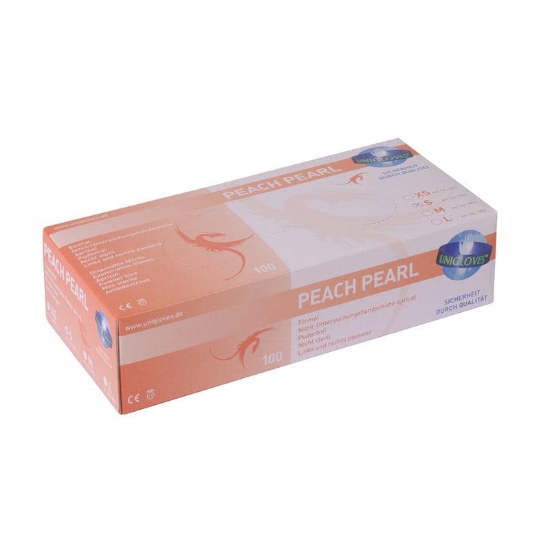 Unigloves Pearl Nitrilhandschuhe gemäß EN 455, T. 1-4 & AQL 1,5
