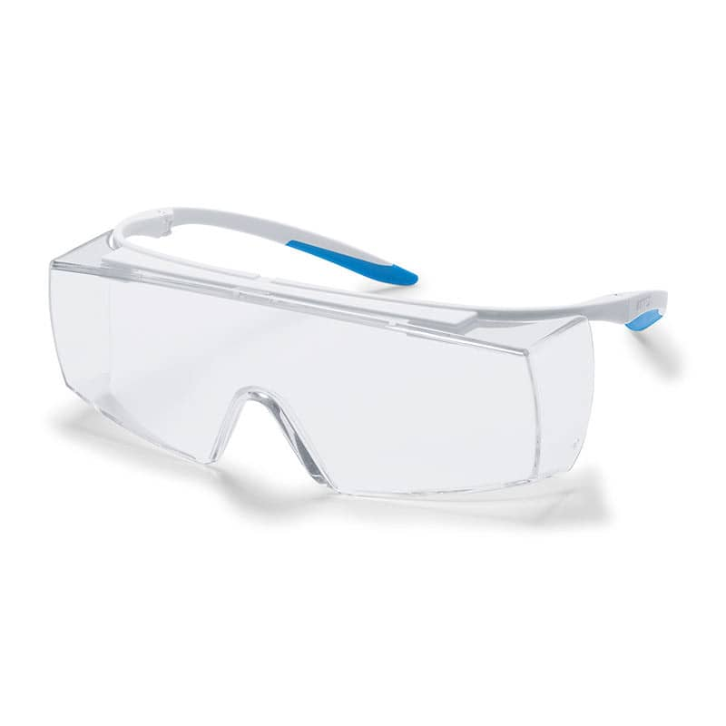 uvex super f OTG CR, autoclavable safety glasses with side protection