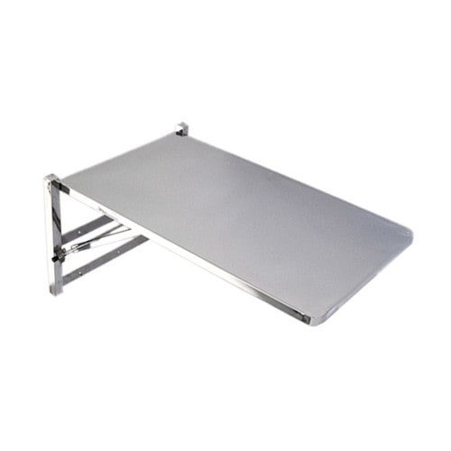 Folding wall table for veterinarians