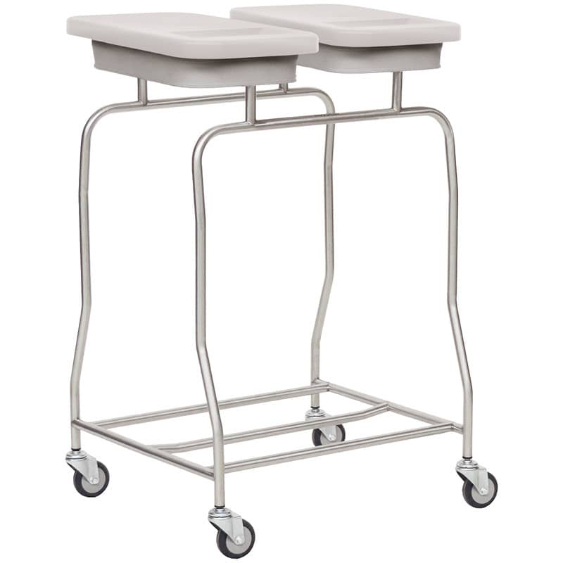 Laundry Trolley, 2 Compartments