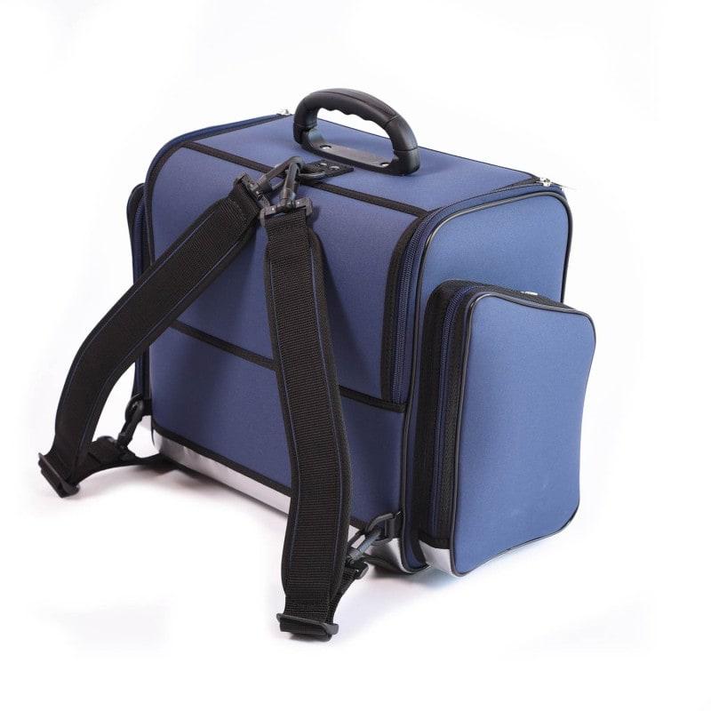Mit praktischen Schultergurten- auch als Rucksack zu tragen