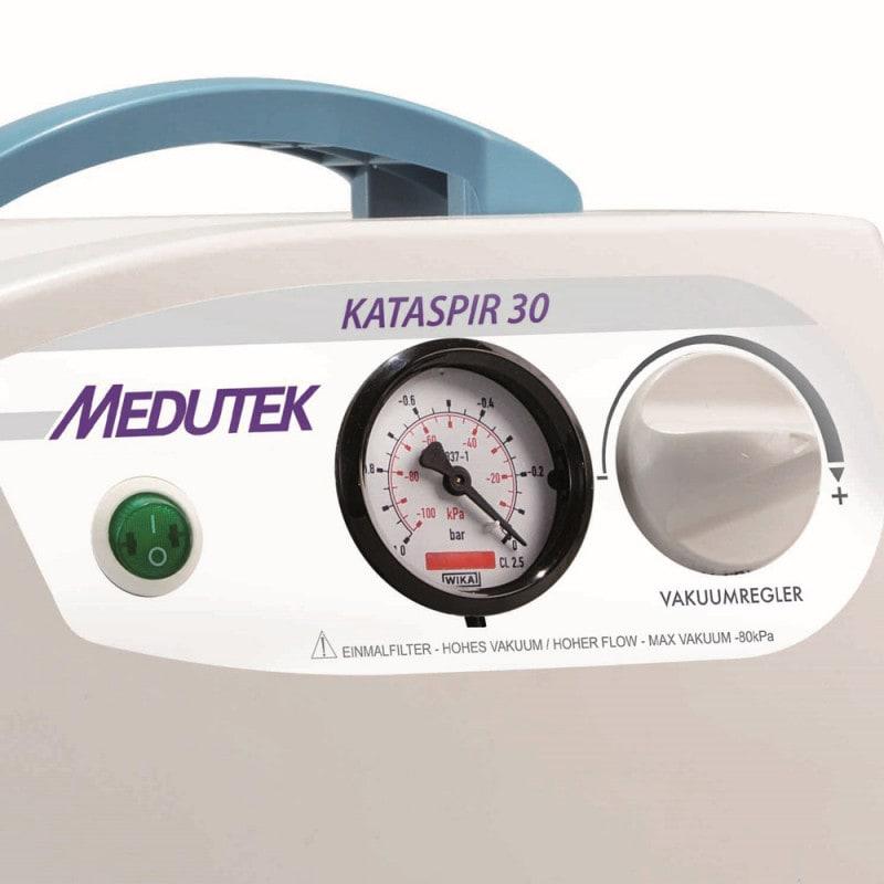 KATASPIR 30, elektrische Absaugpumpe mit Vakuumregulierung & Vakuumanzeige