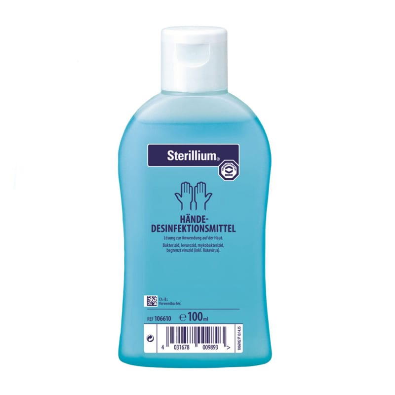 Sterillium ist für die hygienische und chirurgische Händedesinfektion geeignet