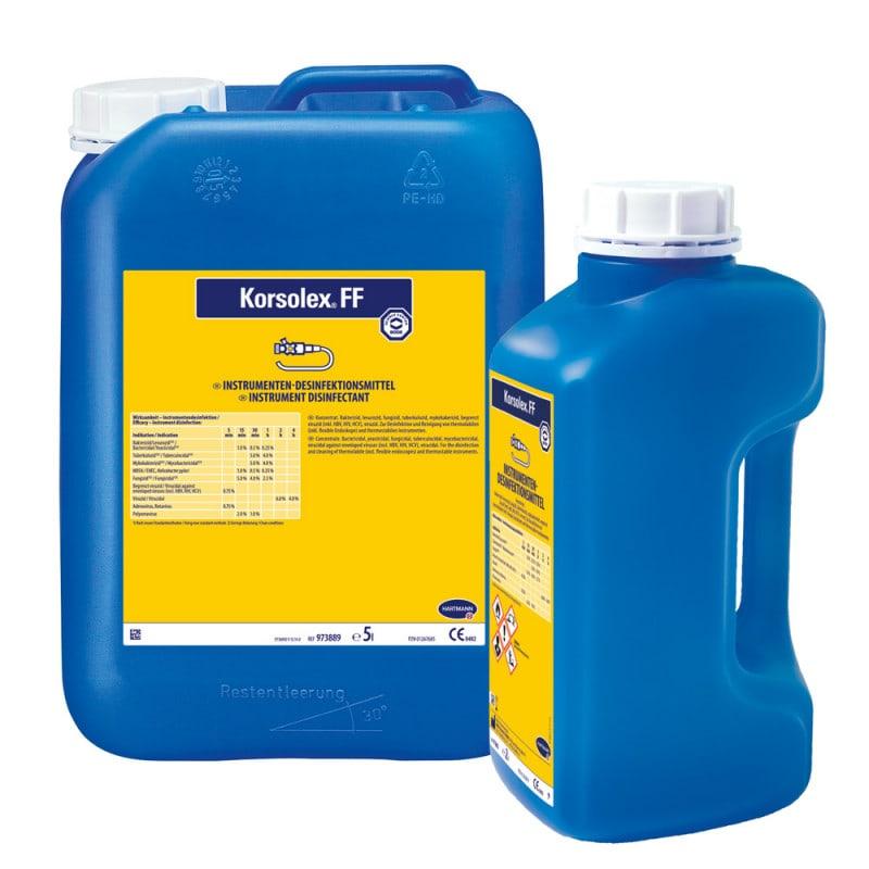 Korsolex FF, Instrumentendesinfektion