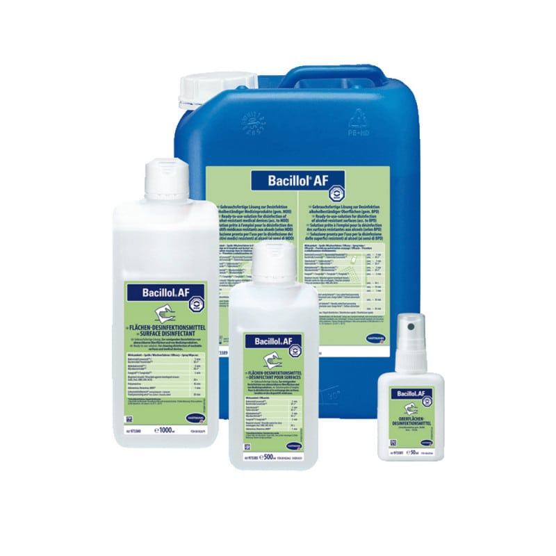 Bacillol AF, rapid surface disinfecting