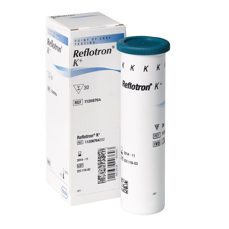 Reflotron Kalium Teststreifen